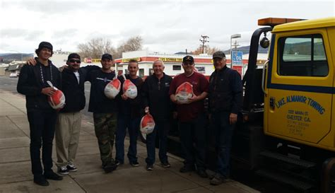 aaa insurance  susanville towing bring holiday spirit