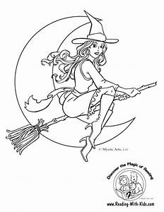 Halloween Witch : halloween coloring pages witch