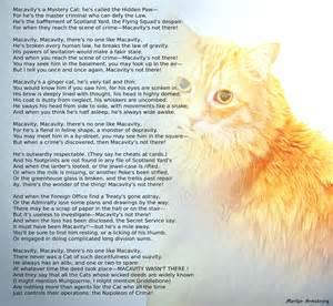 Macavity The Mystery Cat Poem