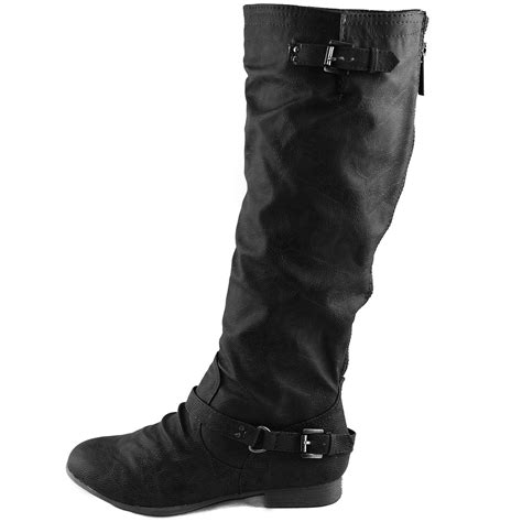 best motorcycle boots for women women 39 s top moda coco 1 knee high motorcycle riding boots