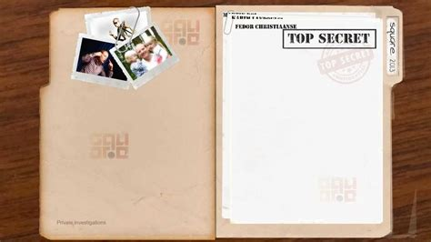 After Effects Template Secret Files by Top Secret Document File Moving Test File 1 After Effects