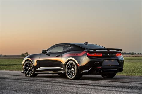 Camero New by Hennessey S New Quot Exorcist Quot Chevrolet Camaro Zl1 Set To