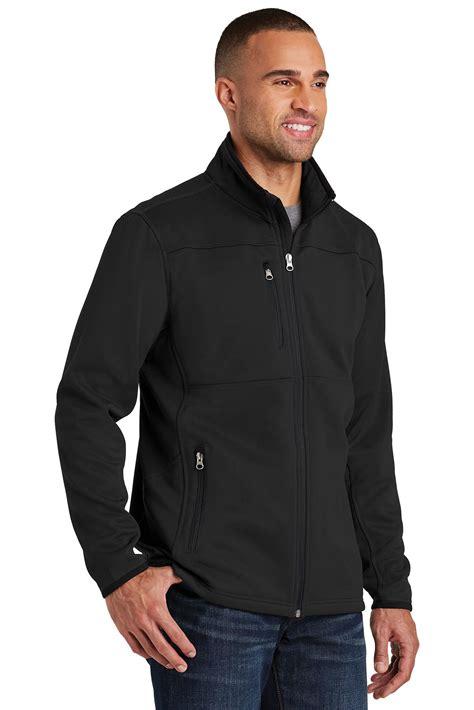 port authority pique fleece jacket polyester fleece