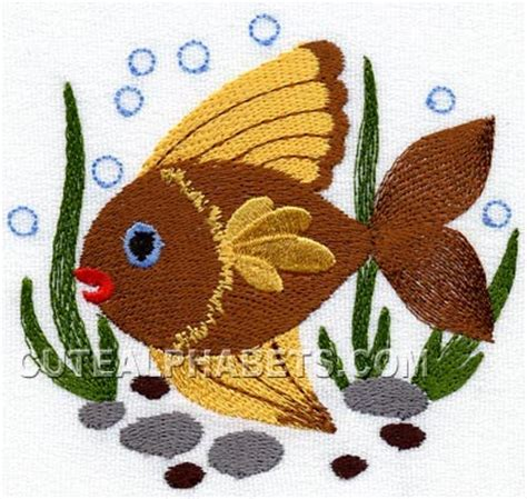embroidery fish designs  embroidery patterns