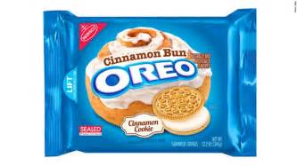 oreos new cinnamon bun flavor hits the stores cnn