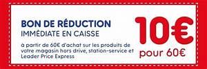 Bon De Reduction Lustucru : bon de r duction leader price de 4 12 ~ Maxctalentgroup.com Avis de Voitures