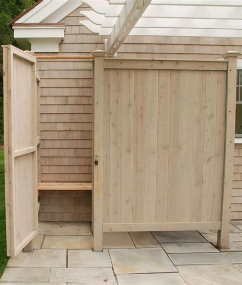 Outdoor Shower Enclosure Kits Pictures To Pin On Pinterest