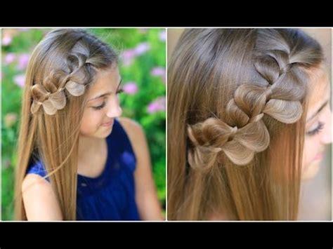 rick rack braid cute girls hairstyles youtube