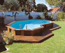 Swimming Pool Ideas With Deck Pool Photo Simple Design For Above Ground Pools With Decks