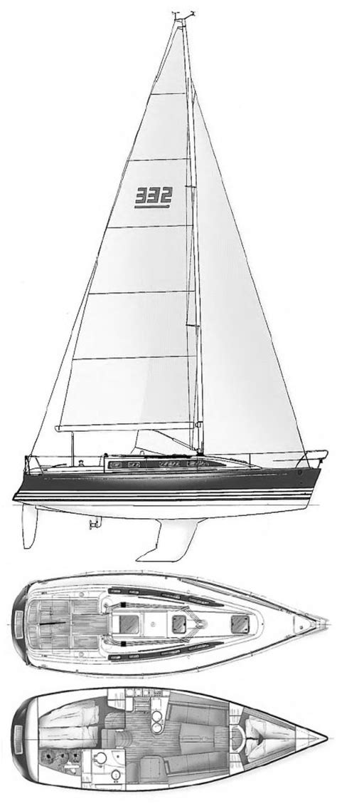 X332 Sailboat Specifications And Details On Sailboatdatacom