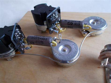 Phase Reversesplit Coil Wiring Harness For Gibson Les Paul