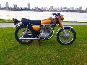 Restored Honda Cb350