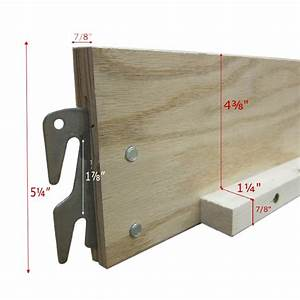 Replacement Wood Bed Rails for Queen/King decor