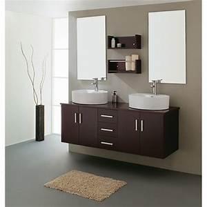China Double Sink Bathroom Vanities 21730b