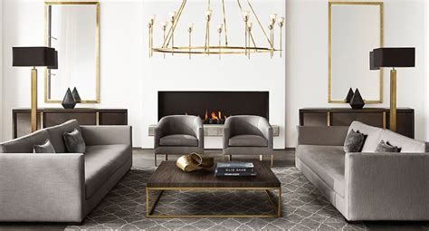 brass furniture  decor  rh modern