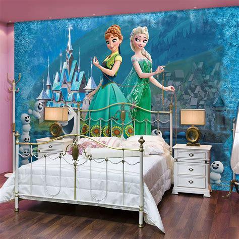 Kinderzimmer Mädchen Elsa by Vlies Wandbild Tapeten Fototapete Kinder Disney Frozen
