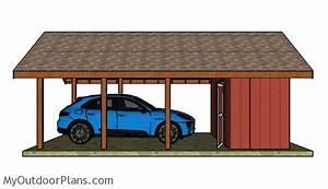 Carport With Storage Plans MyOutdoorPlans Free