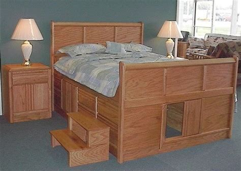 king size captains bed  fascinating  king bed