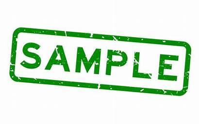 Sample Word Stamp Samples Watermark Rubber Seal