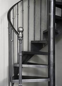 Décoration D Escalier Intérieur : dh122 spir 39 d co bistrot sans contremarche escalier d 39 int rieur en colima on sur 2 niveaux ~ Nature-et-papiers.com Idées de Décoration