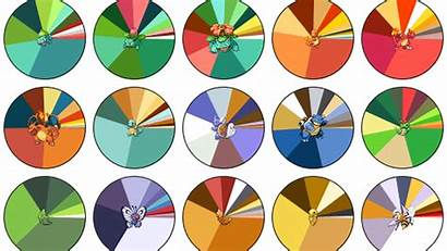 Pokemon Palettes Polygon Rainbow Explosion Connected Stay
