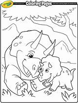 Triceratops Coloring Crayola Pages Printable Colouring Dinosaur Christmas Books Sheets Adult Dino Animal Sketch Bee Colorful sketch template