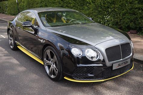 Bentley Continental GT Speed Black Edition W12   Car