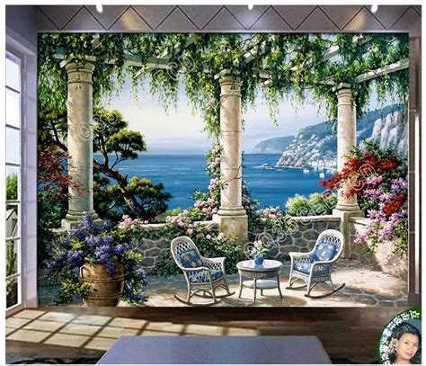 high quality hot sale  custom  photo wallpaper murals