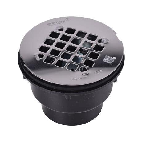 abs shower drain oatey oatey abs shower drain with 4 1 4 in