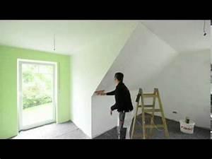 Dachschräge Tapezieren Ideen : rasch tapeten wie tapeziere ich an einer dachschr ge youtube ~ A.2002-acura-tl-radio.info Haus und Dekorationen