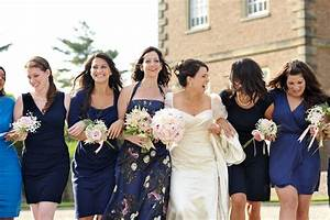 Mismatched Blue Bridesmaids Dresses - Elizabeth Anne ...