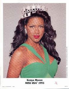 Kenya Moore from Michigan, Miss USA 1993 and 5th runner up ...