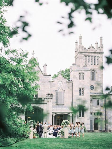 Elegant Garden Wedding At Lyndhurst Castle Weddings