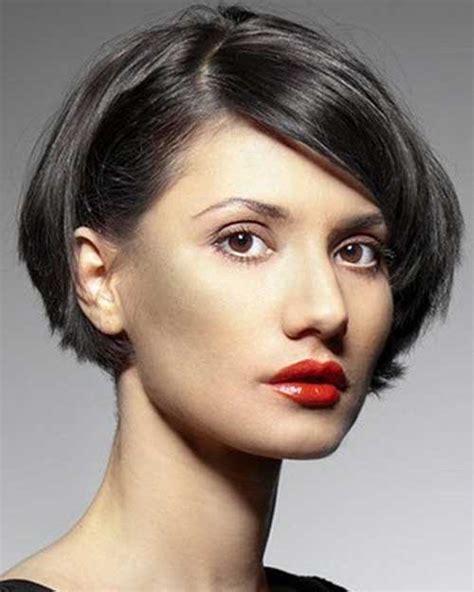 short layered haircuts   faces short
