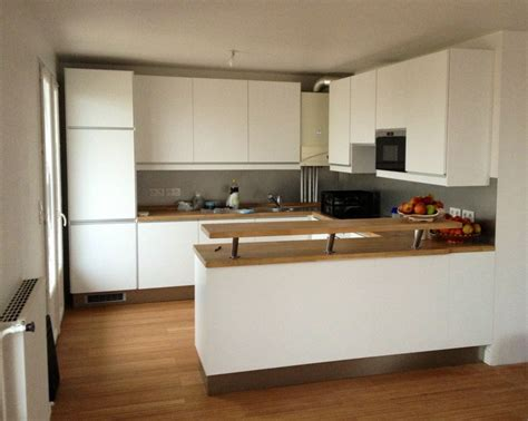 image cuisine blanche agréable cuisine marron et blanc 3 cuisine blanche plan