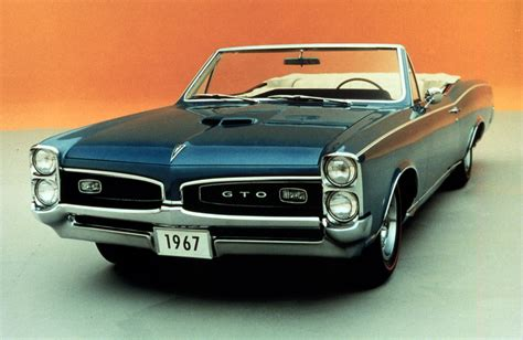 The Birth Of The Muscle Car The Pontiac Gtos 50th