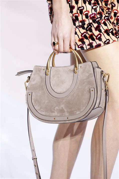 chloe fallwinter  runway bag collection spotted fashion
