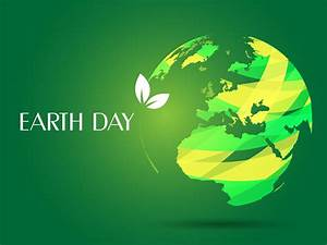 Day Powerpoint Earth Day Ppt Backgrounds 3d Green White Templates