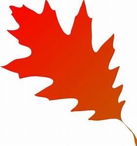 Autumn Leaf Red Orange Clip Art at Clker.com - vector clip ...