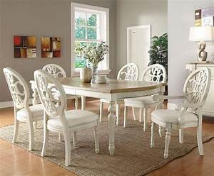 white dinette sets white dining set traditional With white formal dining room sets