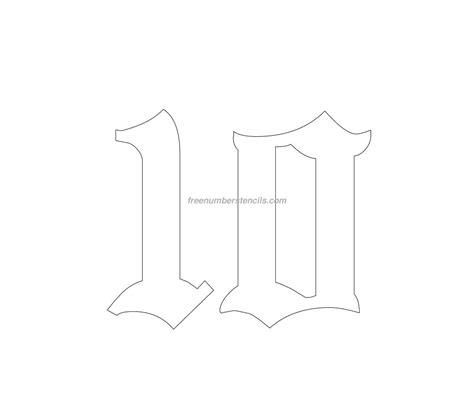 school  number stencil freenumberstencilscom