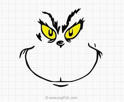 Svg Clipart Grinch Face Clip Cut Svgful