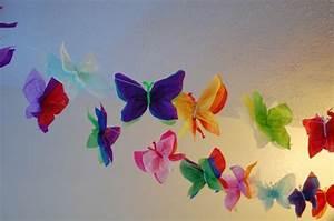 Bedeutung Schmetterling In Der Wohnung : 150 verbl ffende bastelideen aus papier ~ Watch28wear.com Haus und Dekorationen