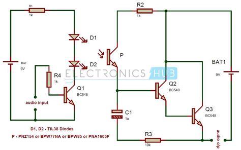 Simple Audio Transmitter Receiver Circuit