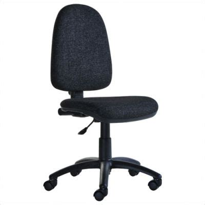 office chair with arms or without bilbao fabric operator chair without arms