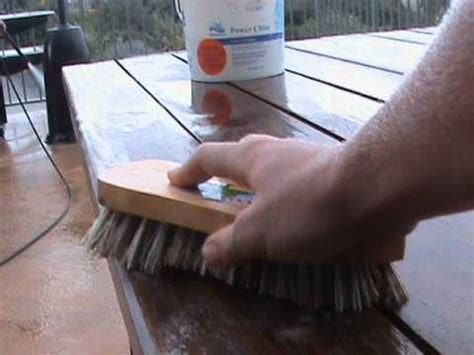 clean wooden outdoor furniture youtube