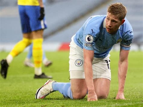 Manchester City Midfielder Kevin De Bruyne Could Be Out ...