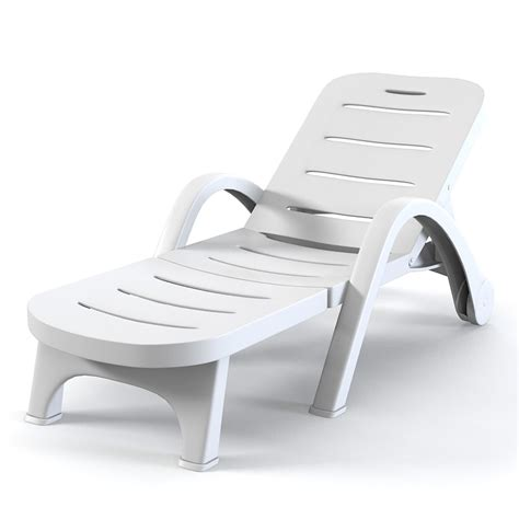 sun chaise lounge chairs 3ds max plastic sunlounger sun