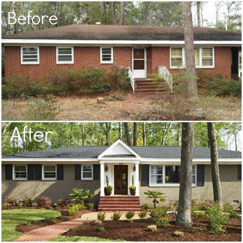 Exterior Before And After  For The Home  Pinterest