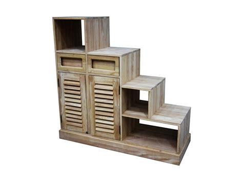 canapé colonial meuble escalier colonial en hévéa massif meuble en bois